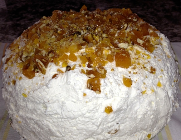 Ashley Grant rum cake