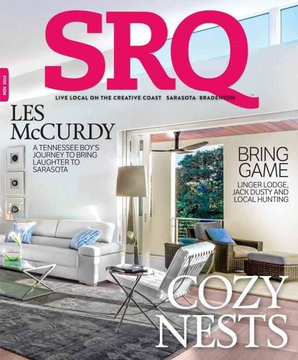 November Edition of SRQ | The Magazine. Photo Credit: Greg Wilson