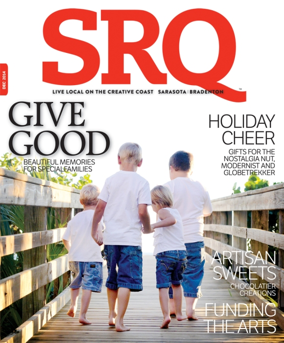 The December Edition of SRQ Magazine hits newsstands December 1, 2014.