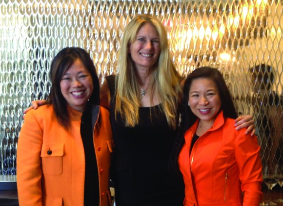 From left to right: SRQ President & Editor in Chief Lisl Liang, Director of Strategic Partnerships Ashley Grant, Women In Business Leadership Circle Member Lee-En Chung.
