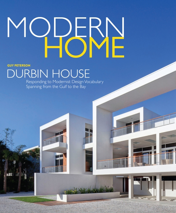 SRQ Media Group announces new publication, Modern Home Magazine. Cover for illustrative purpose only.