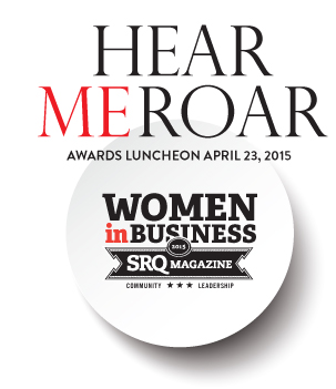 The SRQ Hear Me Roar Luncheon will take place on Thursday, April 23rd at 10:30 AM.