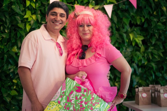 Ali and Jane Molavi of Short Stop Market took home the prize for best pink. Photo credit: Evan Sigmund