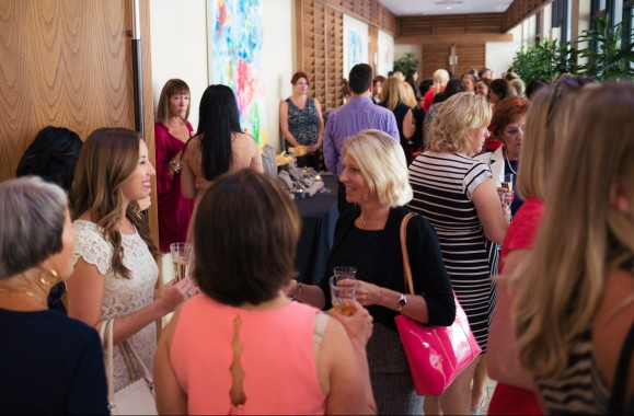 Hear Me Roar luncheon guests mingled and shopped in the Pop-Up Boutique prior to the awards ceremony. Photo Credit: Evan Sigmund