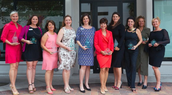 The 2015 SRQ Women in Business Leadership Circle. Not pictured: Stefanie Overturf and Kim Hopper. Photo Credit: Evan Sigmund