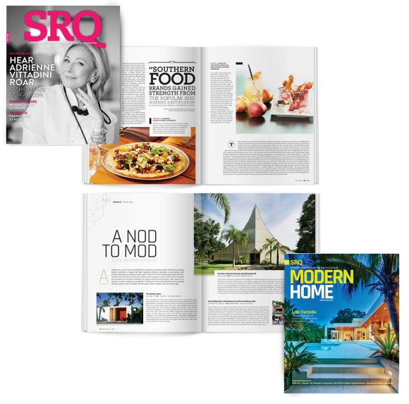 The July issue of SRQ | The Magazine and Modern Home Magazine hits newsstands on July 1st.