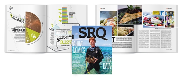 The new issue of SRQ | The Magazine hits newsstands on August 1st.