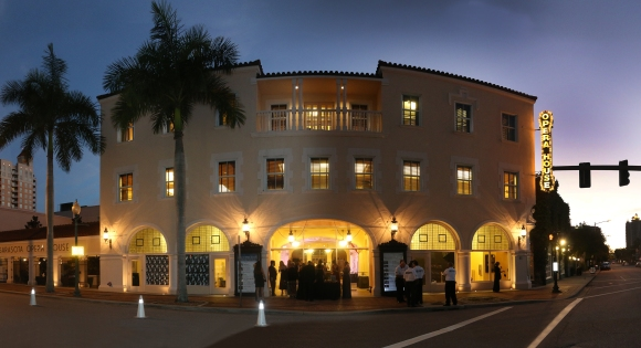 The historic Sarasota Opera House serves as the venue for the annual Bal Masqué gala. Photo Credit: Blake Spurlin