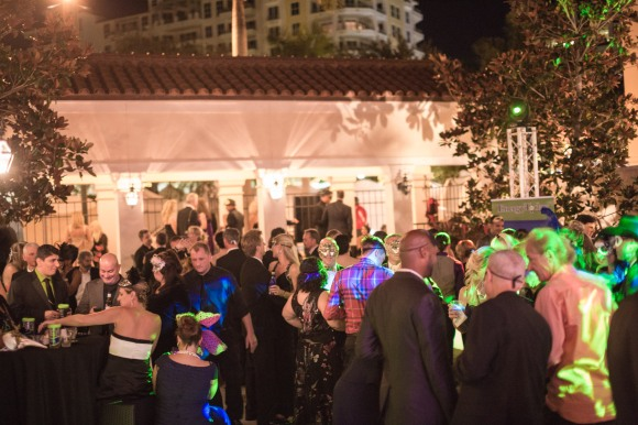 Guests enjoy the Cool Today bar at the 2014 Bal Masqué gala. Photo Credit: Evan Sigmund.