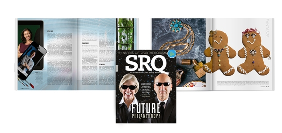 The December edition of SRQ Magazine is on newsstands now!