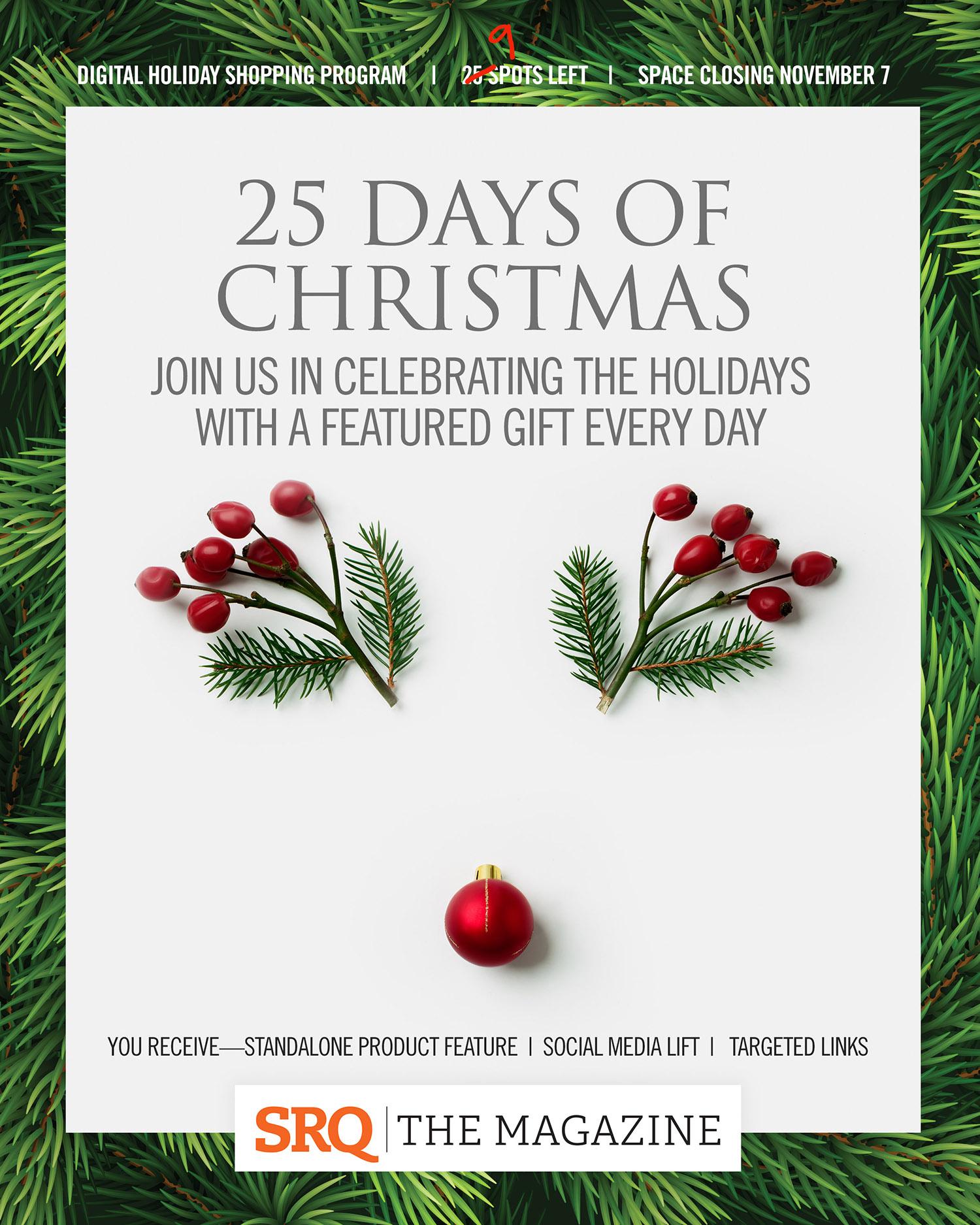 25 Days Of Christmas.Srq Media Digital House 25 Days Of Christmas Special